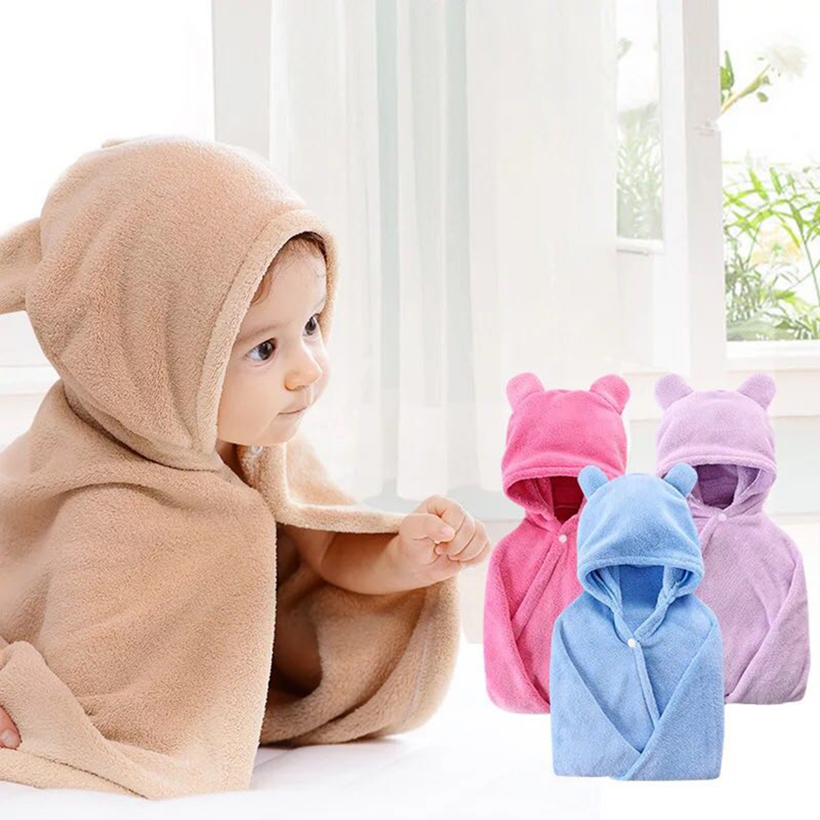 Emperor Baby Baby Hooded Towel