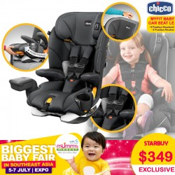 Chicco MyFit LE Harness Booster Carseat (Venture)