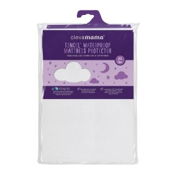 Clevamama Tencel Fitted Waterproof Mattress Protector (Cot Bed / Single Bed)