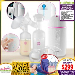 Haenim 7S Tumbler Bluetooth Breastpump + Free Gifts