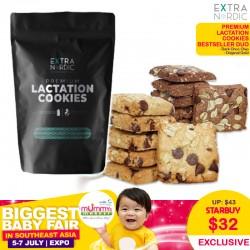 Extra Nordic Premium Lactation Cookies Bestseller Duo (Original Gold & Dark Choc Chip)