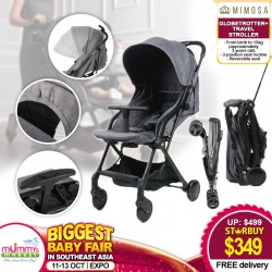 Mimosa Globetrotter+ Travel Stroller FREE Delivery!!