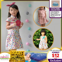 Steward Little Apparel - Little Fairy Collection cotton cheongsam and dresses BUY 2 for $20!!