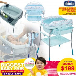 Chicco Cuddle & Bubble Comfort Baby Bath Tub / Changing Station