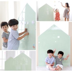 Momsboard JeJe House Mignon (L) Magnetic Whiteboard + Magnetic Funny Puzzle Set OR Felt Magnets Set (5 packs)