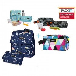 PackIt Bundle (Personal Cooler & Snackbox Cooler )