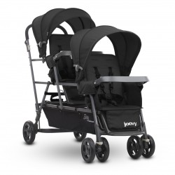 Joovy Big Caboose Stroller (Black) + Free 1 Year Warranty