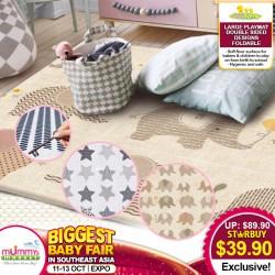 BabyToon Double Sided Large Foldable Playmat