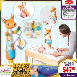 Tinylove Kangy Kangaroo Changing Time Toy