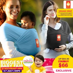 Hana Baby ORGANIC Wrap (Additional Free Gift ONLY For EARLY BIRD SPECIAL*)