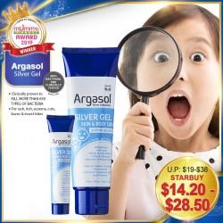 (2019 AWARD WINNER) Argasol 24PPM Silver Gel Skin & Body Care (44ml/118ml) / 32PPM