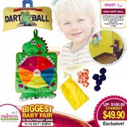 Smart Mama Dino Dart Ball Toy