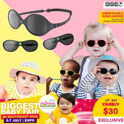 Ki ET LA Unbreakable Sunglasses / Sunhats (0-6yrs old)