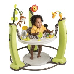 Evenflo ExerSaucer Jump & Learn Jungle Quest Stationary Jumper *DISCOUNT FOR EARLY BIRD