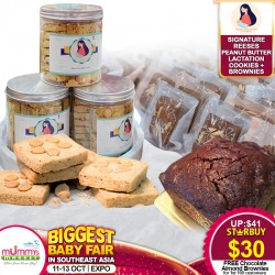 Shan's Lactation Cookies - Signature Reese's Peanut Butter Lactation Cookies + Newly Launched Lactation Brownies