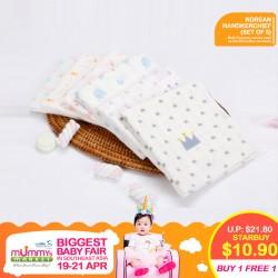 Korean Handkerchiefs (Set of 5pcs) (Buy 1 Free 1)