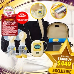 (2019 AWARD WINNER) MEDELA FREESTYLE Breastpump Bundle for $449 ONLY!! PWP is AVAILABLE!!