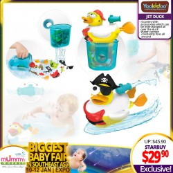 Yookidoo Jet Duck (Create a Pirate / Create a Firefighter / Create a Mermaid) Bath Toy *ADDITIONAL OFF for EARLY BIRD Special!!