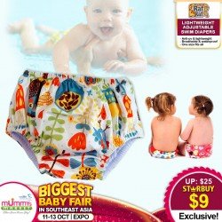 Baby Dash Lightweight Adjustable Swim Diapers *ADDITIONAL OFF for EARLY BIRD SPECIALS!!