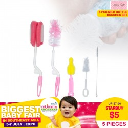 Milk Bottle Brushes (5pcs)