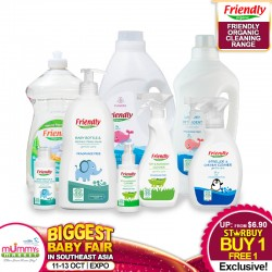 Friendly Organic Baby Cleaning Range BUY 1 GET 1 FREE!!