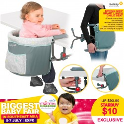 Safety First Spring Grip Smart Lunch Child Seat