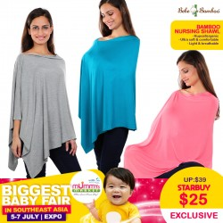 Bebe Bamboo Nursing Shawl Apparel