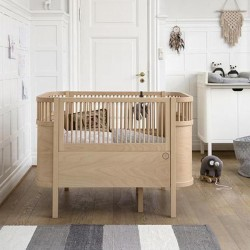 Sebra Bed Baby & Jr. Series (Wooden Edition) + FREE Mattress + Free Delivery