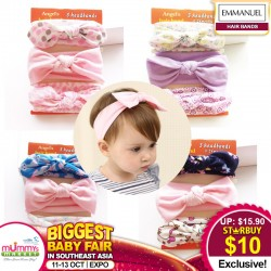 EM Hairband Set of 3 (Assorted Colour)