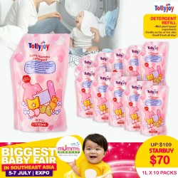 Tollyjoy DETERGENT REFILL (1000ml x 10 Packs) (CARTON DEAL)