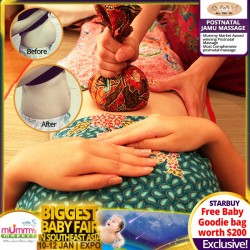 AllTenTic Postnatal Jamu Massage + FREE Baby Goodie Bag (WORTH $200)