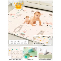 BABYTOON LARGE PLAYMAT DOUBLE SIDED DESIGNS Quality XPE Material