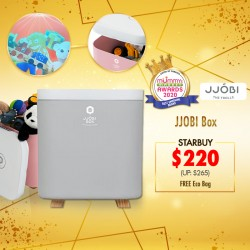(2020 AWARD WINNER)JJOBI UV LED Toy Sterilization Storage Box + FREE JJOBI Eco Bag (WORTH $7.00)*EARLY BIRD SPECIAL!