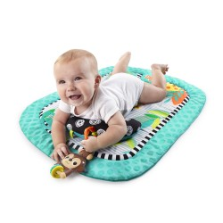 BrightStarts Prop PlayMat (Splashing Safari Prop Mat / Flutter Friends Prop Mat)