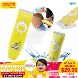 Yijan Baby Safety Hair Clipper 2 Years Warranty!!
