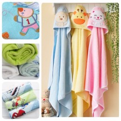 Babytoon Baby Soft Hooded Towels (3pack)