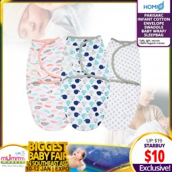 Parisarc Infant Cotton Envelope Swaddle Baby Wrap/Sleepbag *EARLY BIRD SPECIAL!!!