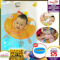 BabySpa 1st Trail Water Training Sessions and Baby Massage + FREE Fun Pool & 100pcs Balls