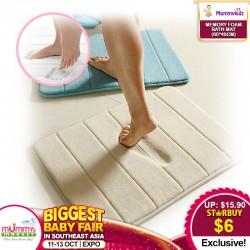 Memory Foam Bath Mat *Anti-Slip