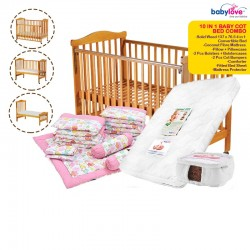 Babylove 10 IN 1 Baby Cot Bed Combo