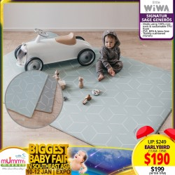 (2020 AWARD WINNER) Little Wiwa SIGNATUR Sage Baby Playmat (Generos) *ADDITIONAL OFF for EARLY BIRD Specials!!!