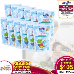 Tollyjoy Refill (Liquid Cleansers / Anti-Bacterial Liquid Cleansers) Carton Deals (12 Packs)