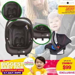 Cozy & Safe - Snowdon Infant Carseat Group O+