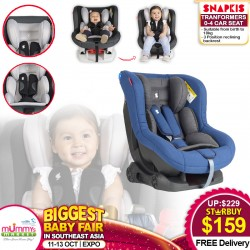 Snapkis Transformers 0 - 4 Carseat  FREE Delivery