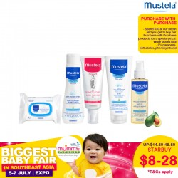Mustela Purchase with Purchase [Selected Items][Limited Quantities]
