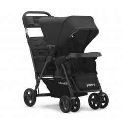 Joovy Caboose Too Ultralight Graphite Stroller + Free 1 Year Warranty