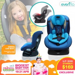 Evenflo AndesLX Convertible CarSeat
