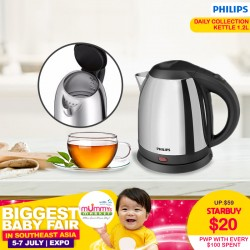 Philips Avent Daily Collection Kettle 1.2L (PWP with every $100)