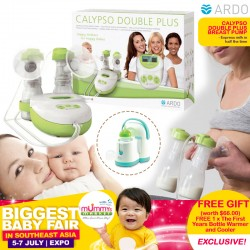 Ardo Calypso Double Plus Breastpump + Free Bottle Warmer and Cooler (Worth $66!!)