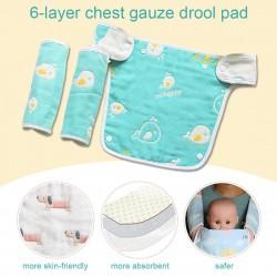 Baby Reversible Cotton Teething Pad 3pcs Set